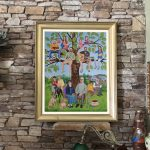 custom family tree portrait art