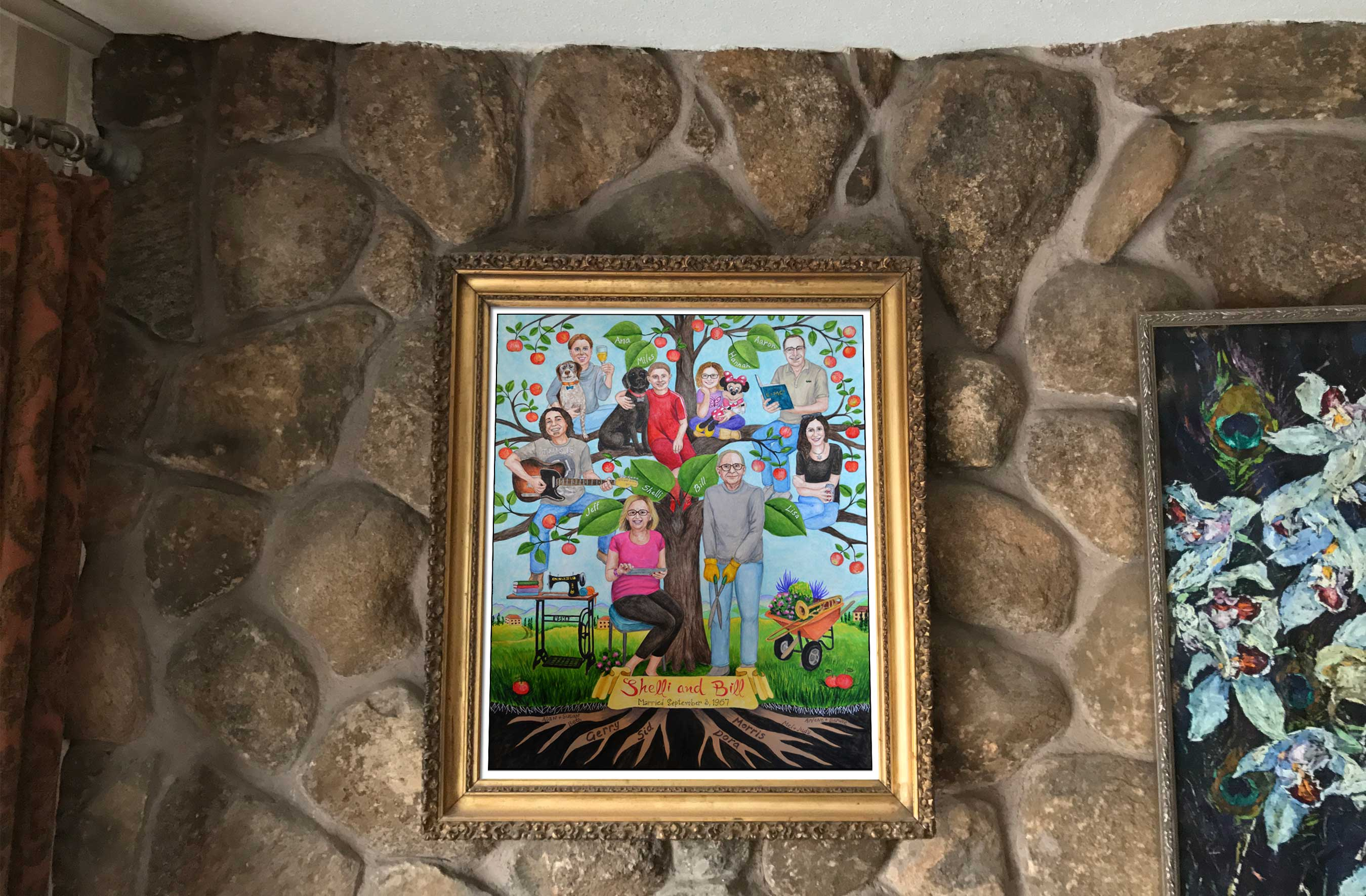 christmas gift whole family – Family Tree Paintings